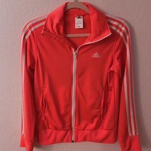 authentic neon pink adidas jacket